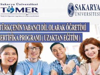Sakarya TÖMER Türkçenin Yabancı Dil Olarak Öğretimi Sertifika Programı