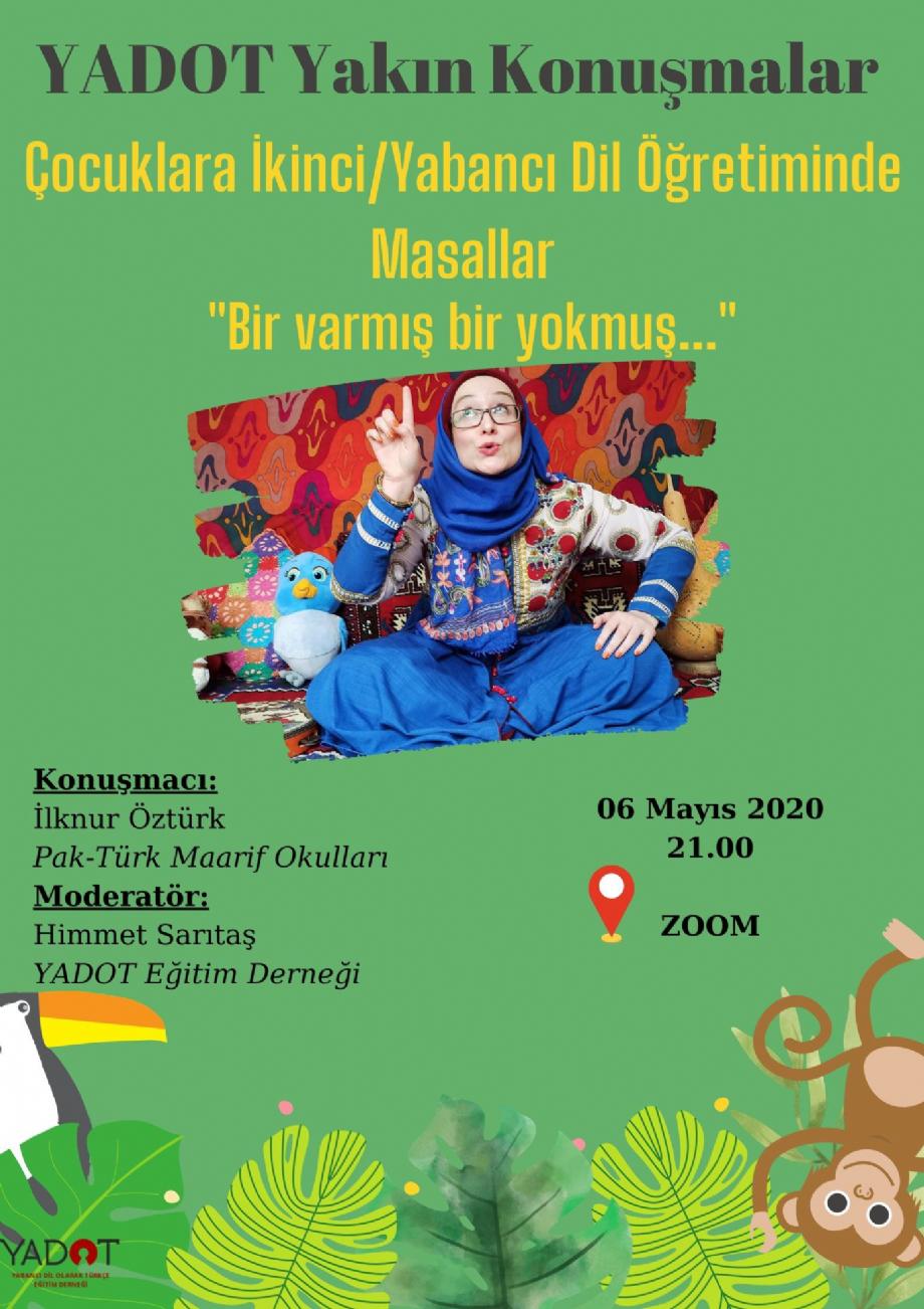 YADOT Yakın Konuşmalar (2) - Haberler - YADOT   Yabancı Dil Olarak Türkçe Eğitim Derneği